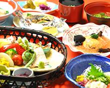湯宿温泉「ゆじゅく 金田屋」料理イメージ