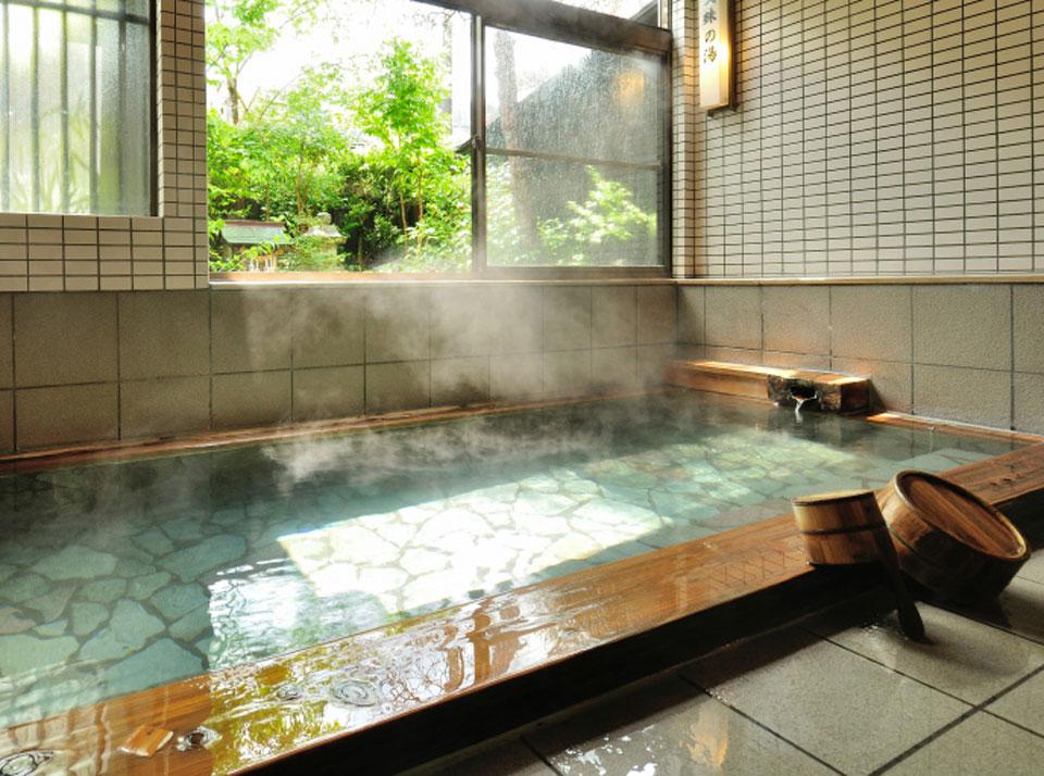 湯宿温泉「ゆじゅく 金田屋」浴場イメージ