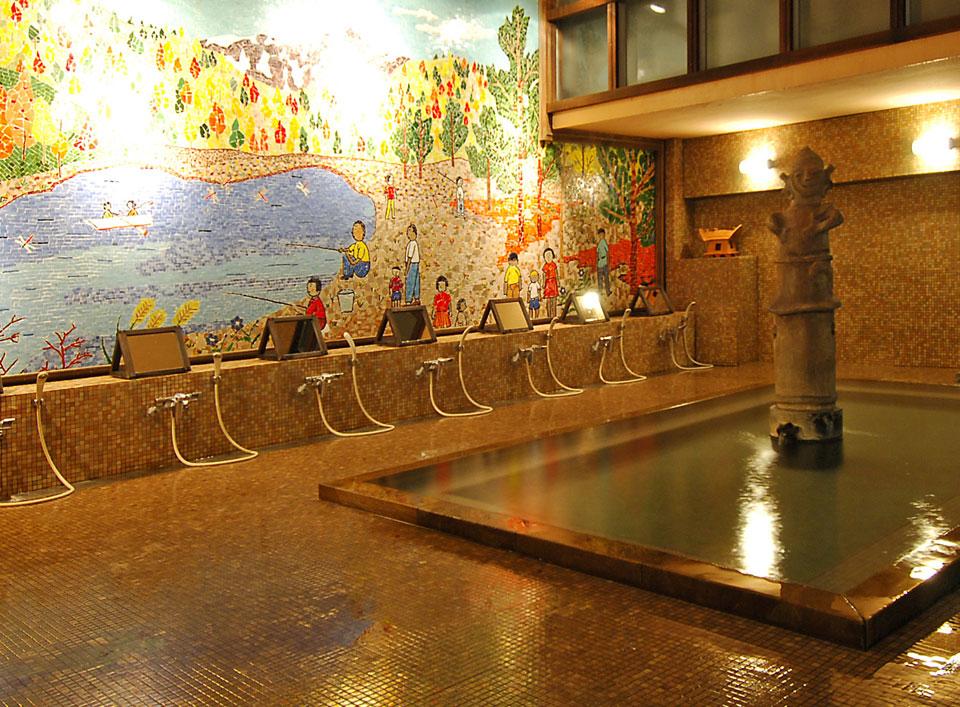 上牧温泉 「辰巳館」浴場イメージ
